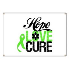 Lymphoma HOPE LOVE CURE Banner