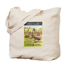 Petrified Forest Vintage WPA Art Tote Bag