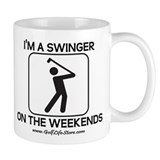 I'm a swinger on the weekends Mug