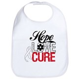 Lung Cancer HOPE CURE Bib