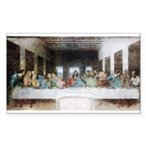 The Last Supper. Rectangle Decal