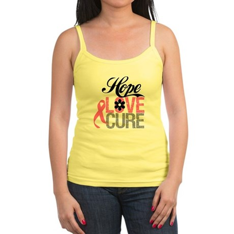 Breast Cancer HOPE CURE Jr. Spaghetti Tank