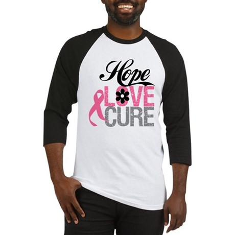 Breast Cancer HOPE CURE Baseball Jersey