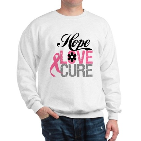 Breast Cancer HOPE CURE Sweatshirt
