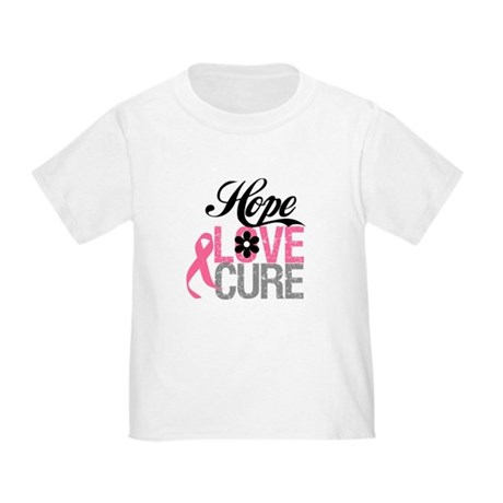 Breast Cancer HOPE CURE Toddler T-Shirt