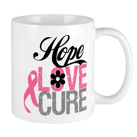 Breast Cancer HOPE CURE Mug