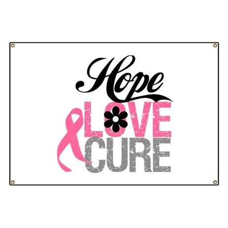 Breast Cancer HOPE CURE Banner