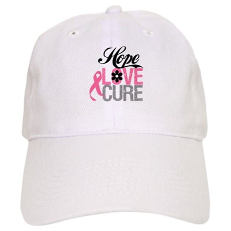 Breast Cancer HOPE CURE Cap
