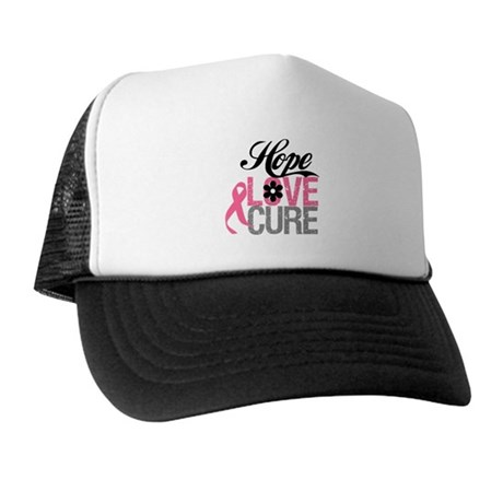 Breast Cancer HOPE CURE Trucker Hat