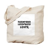 NORWEGIAN LUNDEHUND LOVER Tote Bag