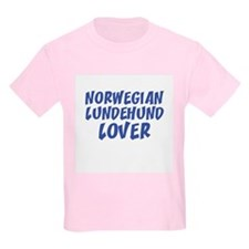 NORWEGIAN LUNDEHUND LOVER Kids T-Shirt