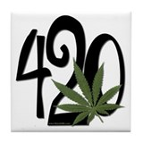 It must be 420 - Tile Coaster