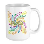 Peace Signs Large Mug