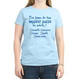 Happiest Places on Earth T-Shirt