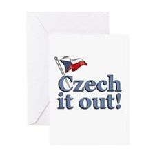 Czech It Out! Greeting Card