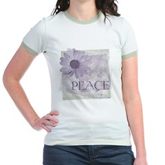 Vintage Peace and a Daisy Jr. Ringer T-Shirt
