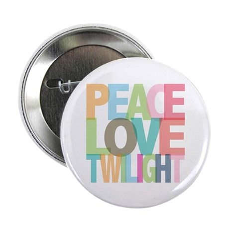 "Peace Love Twilight 2.25"" Button"