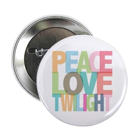 "Peace Love Twilight 2.25"" Button (10 pack)"