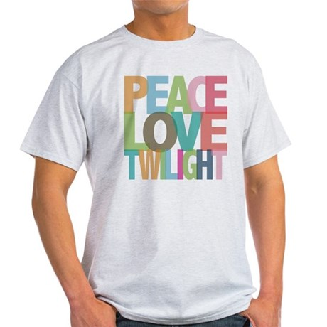 Peace Love Twilight Light T-Shirt