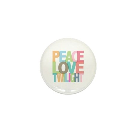 Peace Love Twilight Mini Button