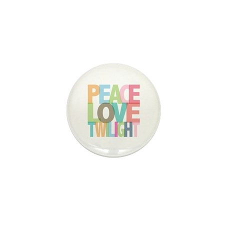 Peace Love Twilight Mini Button (100 pack)