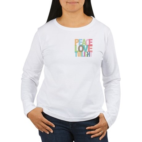 Peace Love Twilight Women's Long Sleeve T-Shirt