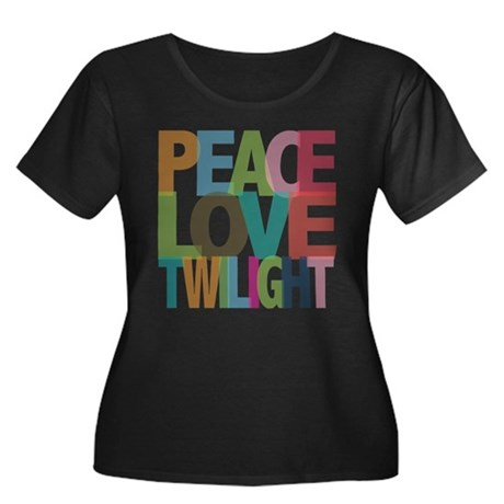 Peace Love Twilight Women's Plus Size Scoop Neck D