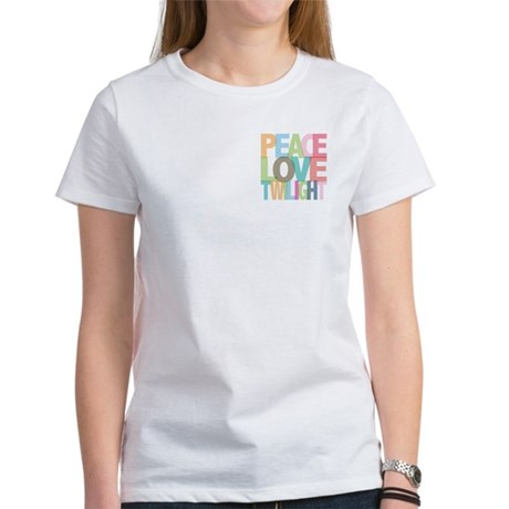 Peace Love Twilight Women's T-Shirt
