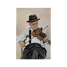 Old Time Fiddler Rectangle Magnet (10 pack)