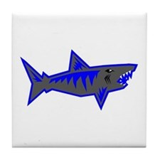 SHARK (2) Tile Coaster