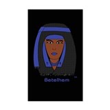 Betelhem DE 041 Rectangle Sticker 10 pk)