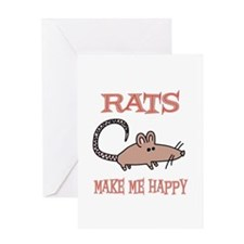 Rats Greeting Card