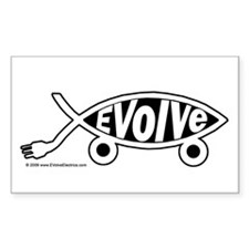 EVolve Fish Decal