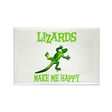 Lizards Rectangle Magnet (100 pack)