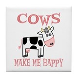 Cow Drink Coasters