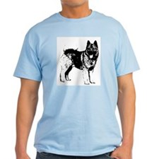 Norwegian Elkhound Ash Grey T-Shirt