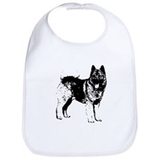 Norwegian Elkhound Bib