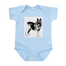 Norwegian Elkhound Infant Creeper