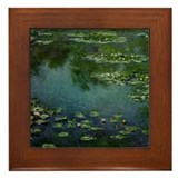 Claude Monet Framed Tile