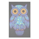 H00t Owl Rectangle Stickers