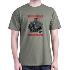 Flatheads Forever!-Red T-Shirt