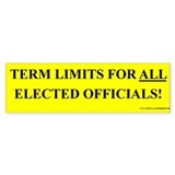 Term Limits for ALL (sticker)