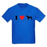 I Heart Patterdale Terrier T