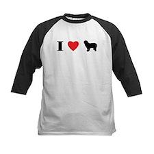 I Heart Polish Lowland Sheepdog Tee