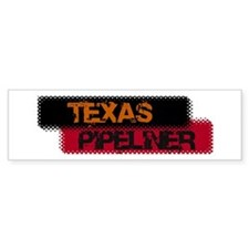 Texas Pipeliner 12 Bumper Sticker (50 pk)