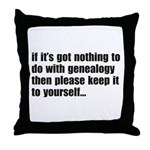 Keep It Throw Pillow