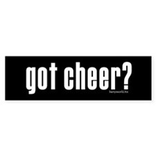 got cheer? Bumper Sticker (10 pk)