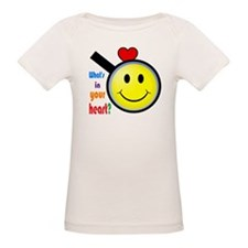 Whats in your heart? Happy Tee