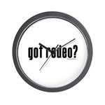 got rodeo? Wall Clock
