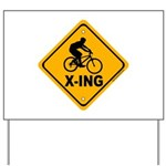 Cycle X-ing Yard Sign